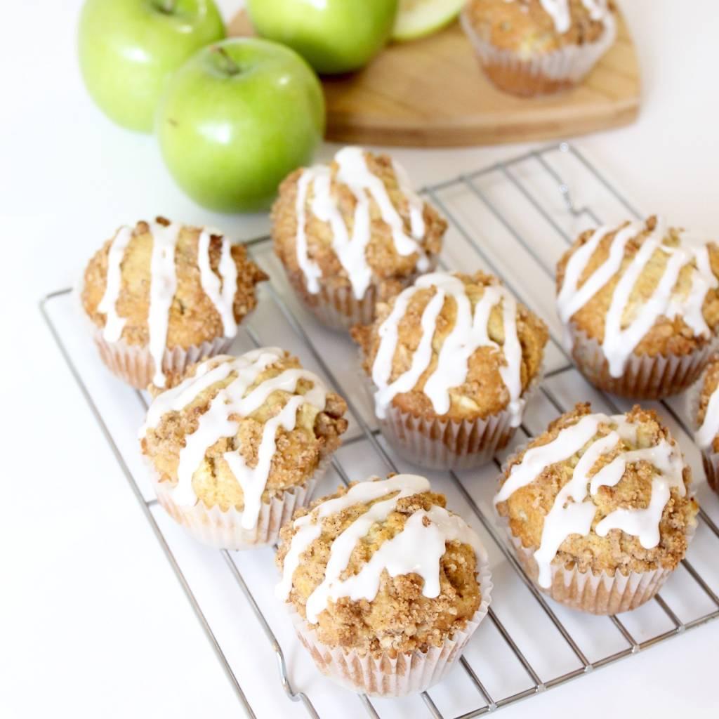 Spiced Apple Muffins - RawSpceBar 6