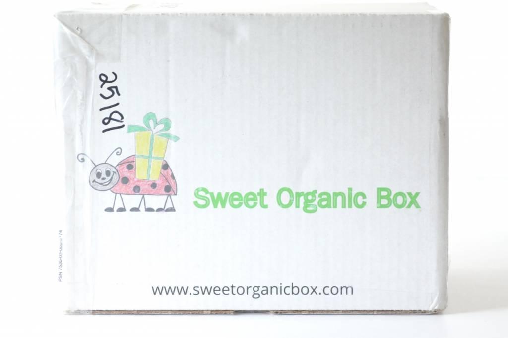 Sweet Organic Box March 2016 1