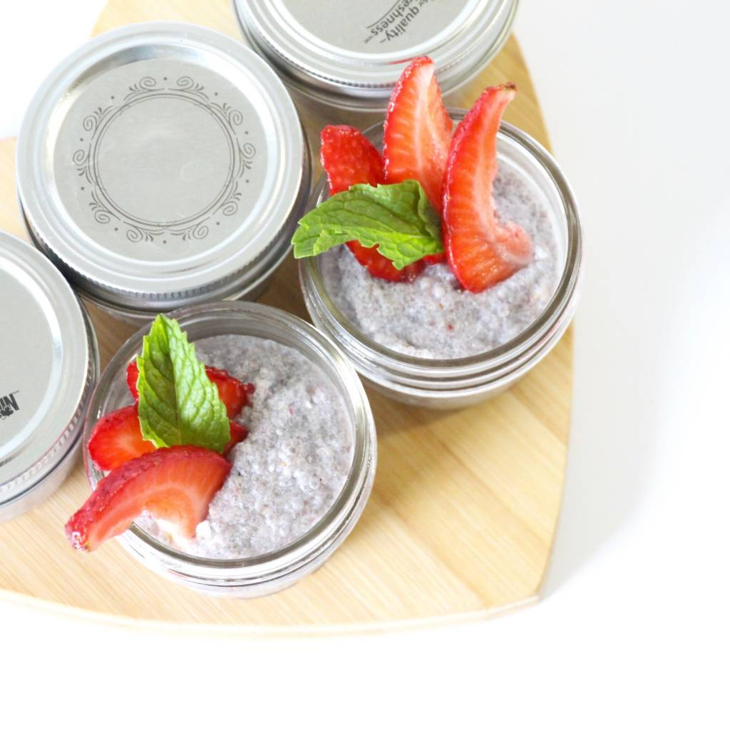 Rose & Cardmom Chia Pudding 4