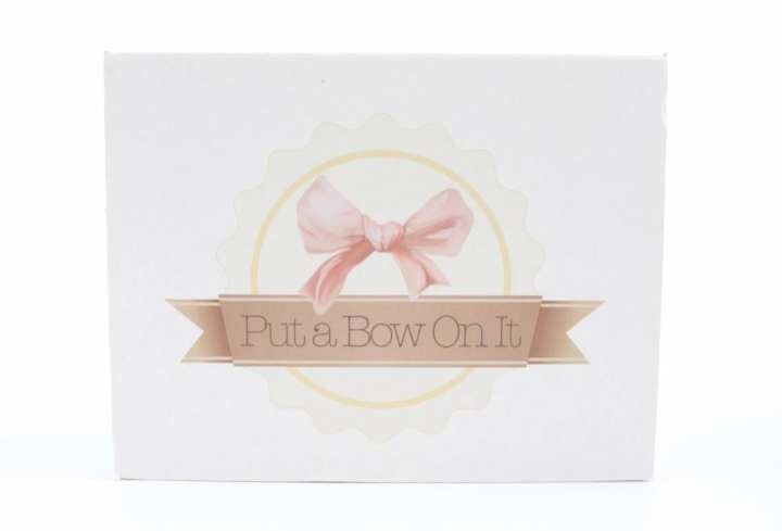 Put A Bow On It Review June 2016 - 2