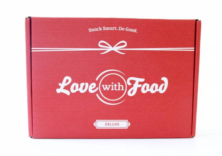 Love Woth Food Deluxe Box Review August 2016 1