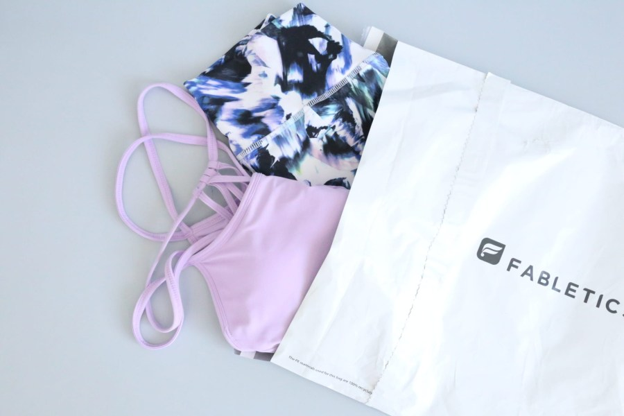 Fabletics best women's clothing subscription box