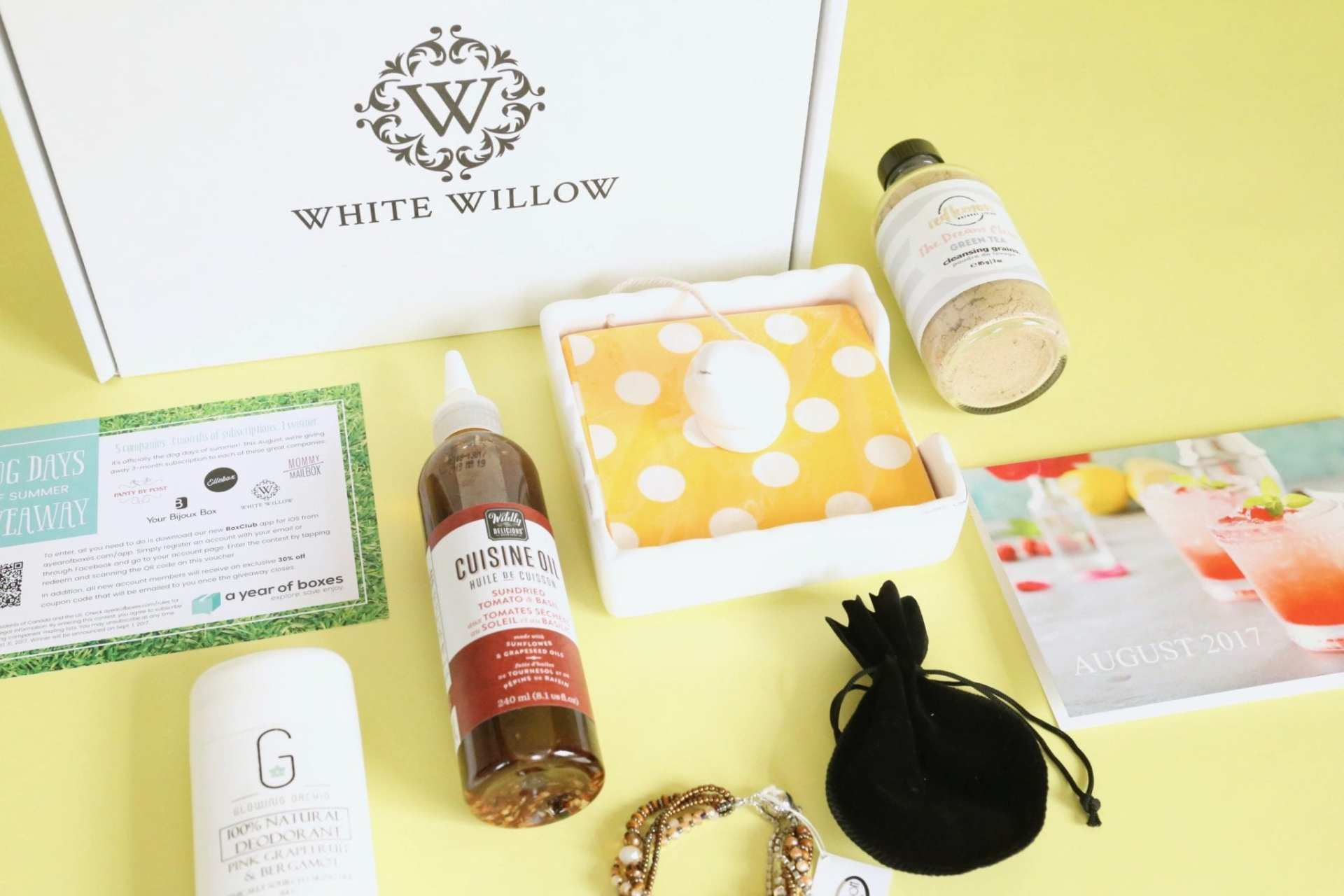 White Willow Box Review August 2017