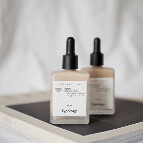 Typology Tinted Serum review- amazing light base for radiant natural skin