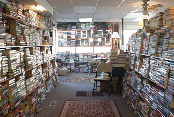 A book town waiting for the buyers: Students no longer frequenting local booksellers
