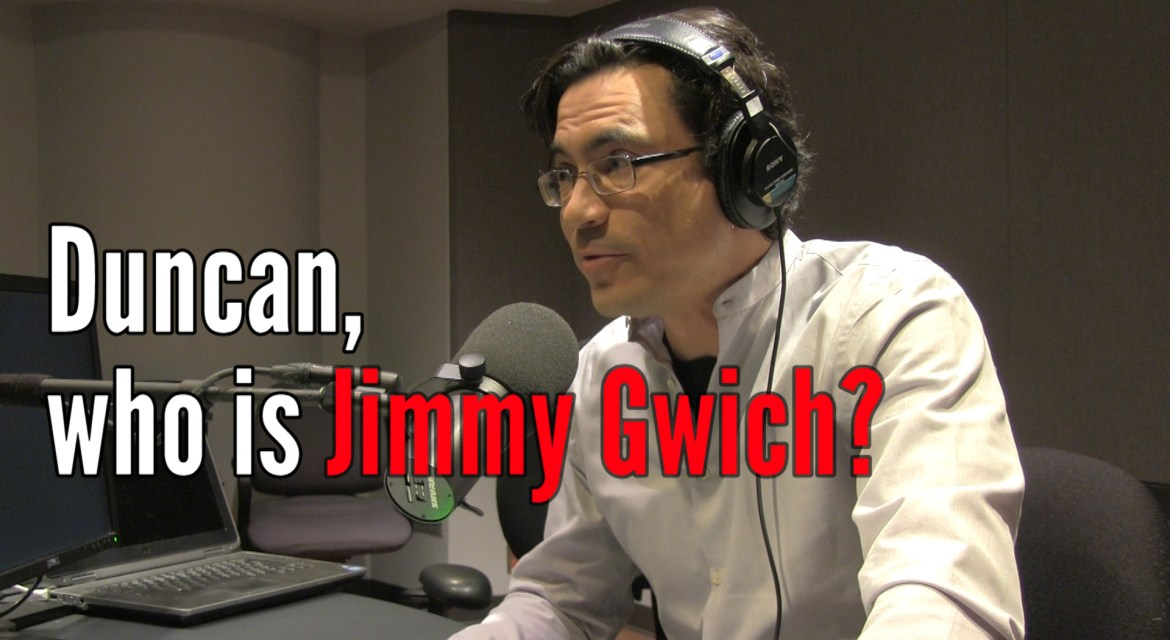 'Who is Jimmy Gwich?': the story behind my radio sign-off