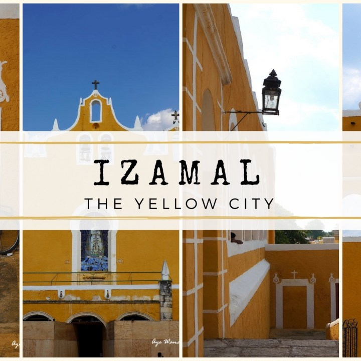 How to spend a day In Izamal, the yellow city of Mexico. Read more on www.ayewanderful.com.