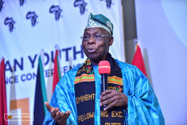H.E. Olusegun Obasanjo, Eminent Fellow of the African Youth And Governance Convergence
