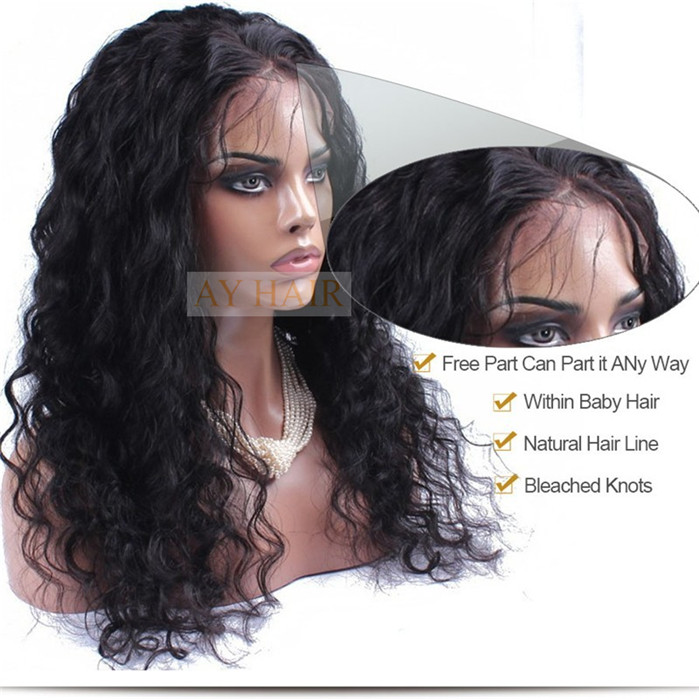Full Lace wig loose curl03