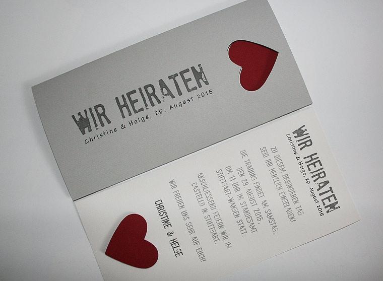 Aufkleber Hochzeit  Aylando Hochzeitskarten