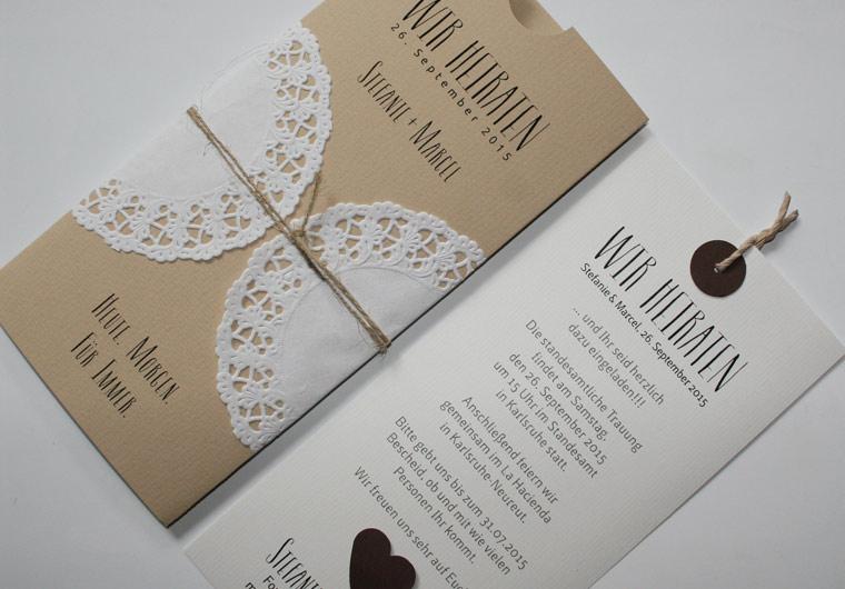 Hochzeitskarten I Hochzeitseinladungen von AYLANDO