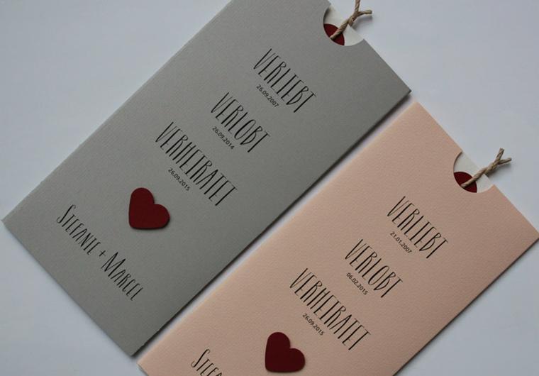 Hochzeitskarten  Einladungskarten  Danksagungskarten von