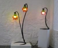 aylesglass - fused glass lighting, wall light, standard ...