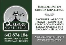 Luna Cafeteria en Ayllón