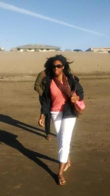 Paps caught me at Ocean Beach. It was a windy day and the waves were choppy, but it was gorgeous. #SanFran