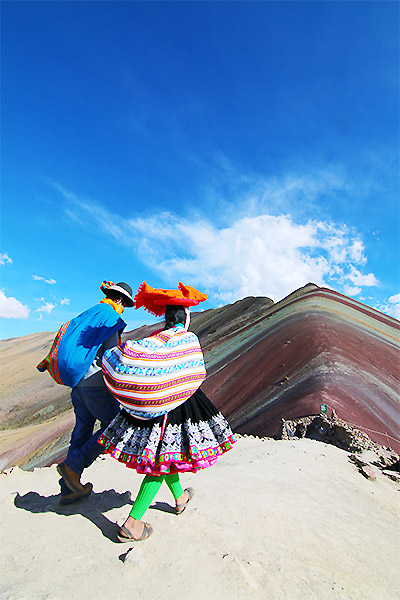 Peru Rainbow Mountain Overnight Ayni Peru