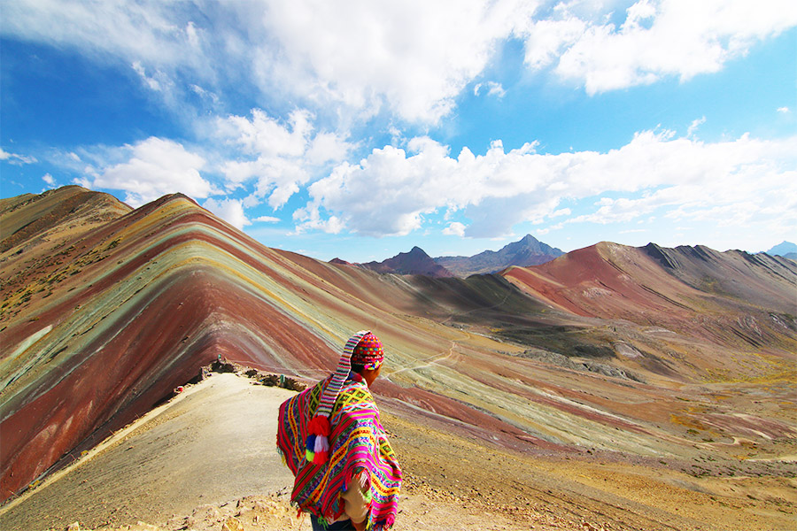 Rainbow Mountain Peru Authentic Ayni Peru
