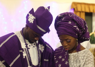 abike and tomi traditional wedding