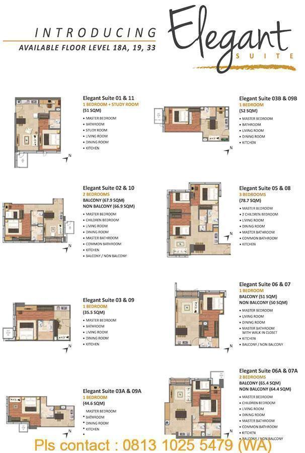 Elegant Suite - Layout