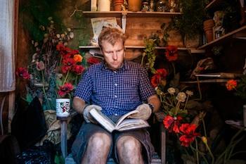 Gardening at Ed Fringe 2013, Undeb Theatre (courtesy Richard Davenport) 1