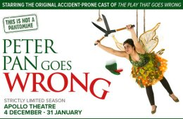 Peter Pan Goes Wrong Apollo Theatre Competition