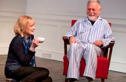 The Father - Claire Skinner, Kenneth Cranham (Photo credit Simon Annand)