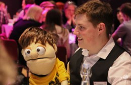 Ventriloquist James Rowney (and Little Jim)