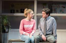 Reasons to be Happy at Hampstead Theatre. Photos by Manuel Harlan
