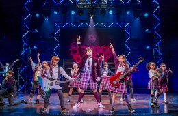 The West End cast of School of Rock The Musical. Photo credit Tristram Kenton.