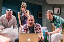 Park Theatre, Twitstorm, Chris England, Jason Merrells, Justin Edwards, Ben Kavanagh, Tom Moutchi, Claire Goose