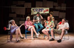 Trump's Women, Lily Bevan, RADA, Photo Helen Murray