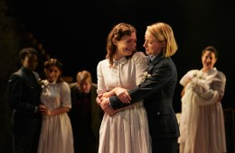 William Shakespeare, Watford Palace Theatre, Much Ado About Nothing, Brigid Larmour, Joanna Brookes, Elly Condron, Rebekah Hinds, Emma Lane, Juliet Leighton-Jones, Nyla Levy, Pepter Lunkuse, Anna O'Grady, Tripti Tripuraneni, Emily Tucker, Julia Watson, Rebecca Brower