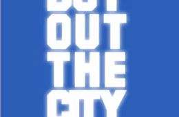 Boy Out The City on a blue background