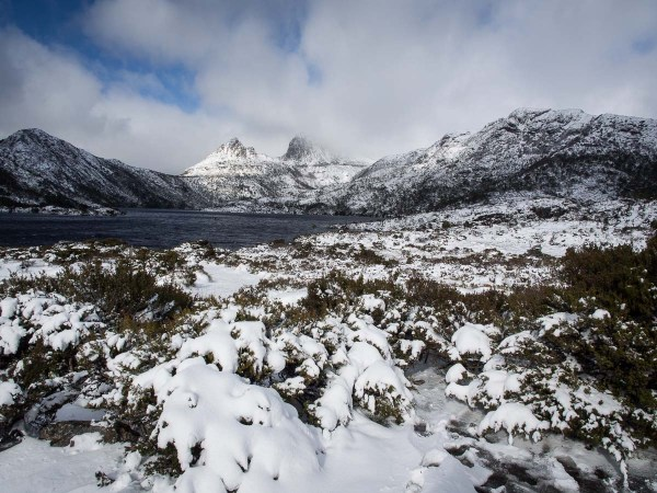 Dove Lake after the snow