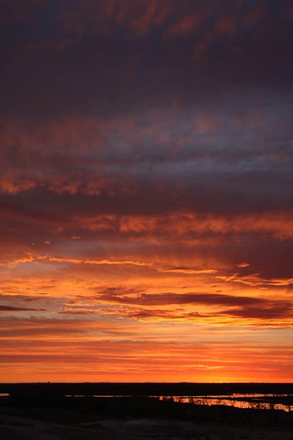 Renmark sunset
