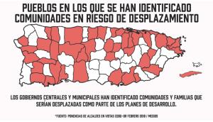 mapa de desplazamientos