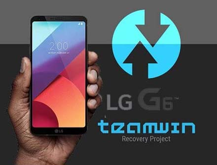 Instalar TWRP recovery al LG G6 H870