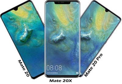 Huawei Mate 20 y Mate 20 Pro disponibles