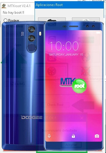Rootear Doogee BV12000 MT6750