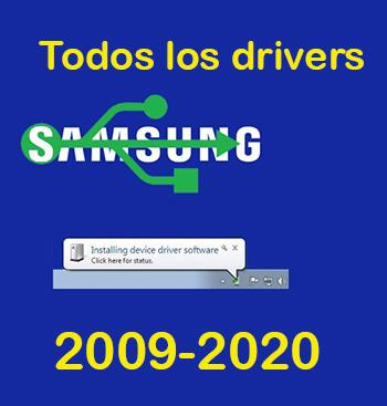 Drivers USB Windows universales Samsung Galaxy 2020