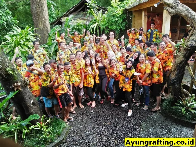 Red Paddle Rafting Ubud Group