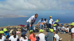 Taller de Geología CEIP San Juan de Haría