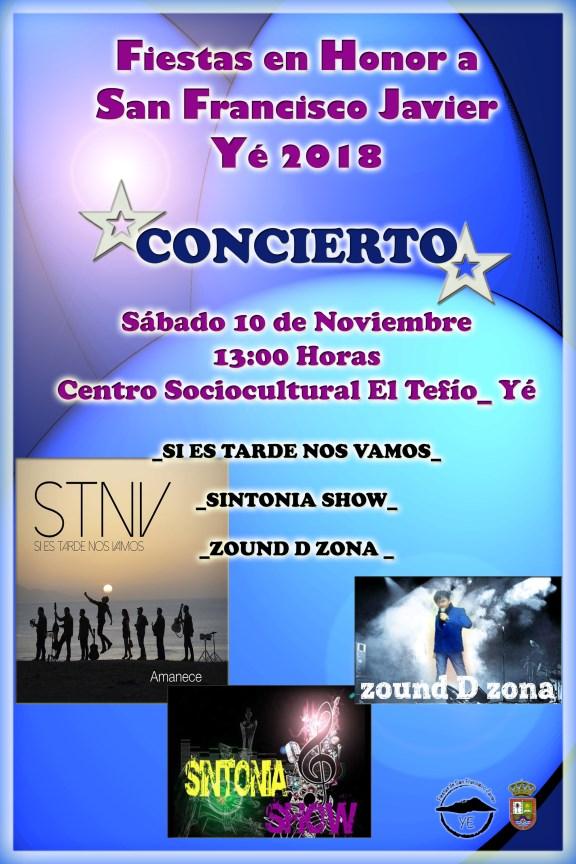 concierto fiestas de Ye 2018