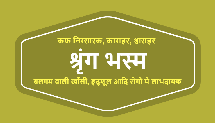 श्रृंग भस्म - Shring Bhasm in Hindi