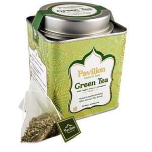 Tè ayurvedico organico Pavilion Green Tea