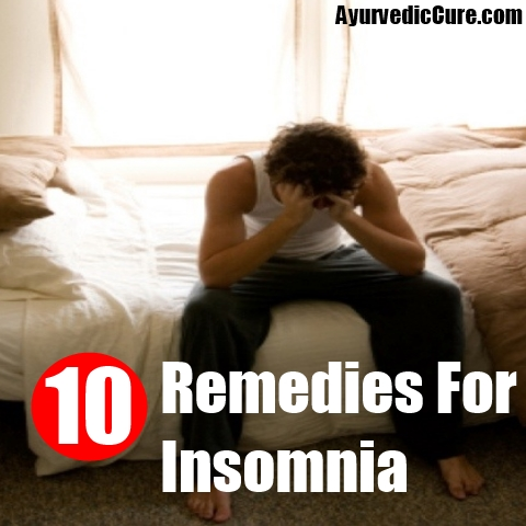10 Remedies For Insomnia