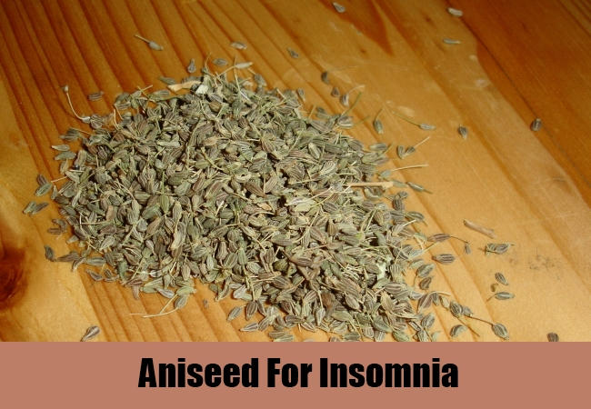 Aniseed For Insomnia