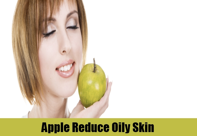 Apple Reduce Oily Skin