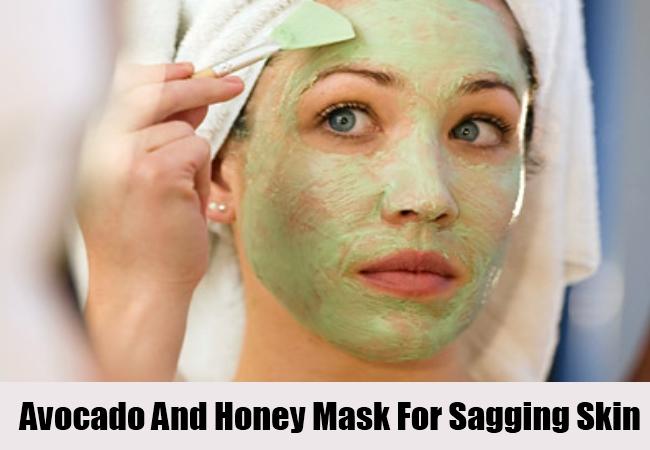 Avocado And Honey Mask For Sagging Skin