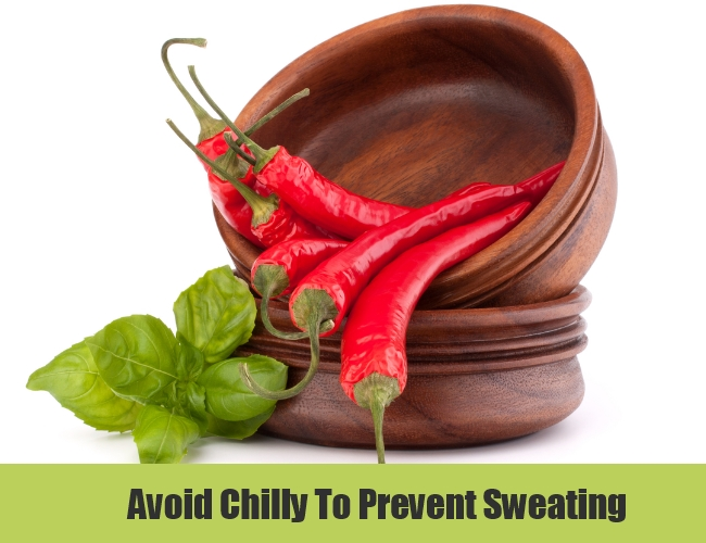 Avoid Chilly To Prevent Sweating